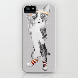Sweatin' to the Oldies iPhone Case