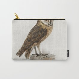 Tyto alba guttata owl illustrated by the von Wright brothers Carry-All Pouch