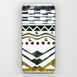 Ethnic Stencil iPhone Skin