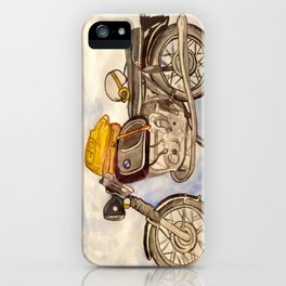 BMW R75 Motorcycle iPhone Case