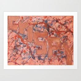 Crispy Art Print