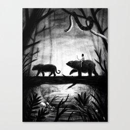 Jungle Book Cover Canvas Print