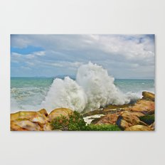 Balanced Arrival Canvas Print