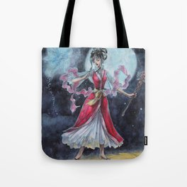 First Fight Magician Girl Tote Bag