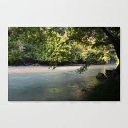 River of woe Canvas Print