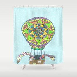Edmund & Gary's Rainbow Adventure Shower Curtain