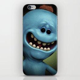 Mr Meeseeks iPhone Skin