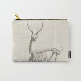 Deer Skeleton Carry-All Pouch