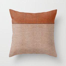 Tomato & Wheat Throw Pillow