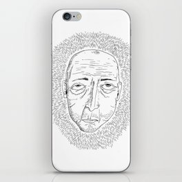 I Don't Like Anyone and Nothing Interests Me iPhone Skin