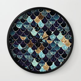 REALLY MERMAID - MYSTIC BLUE Wall Clock