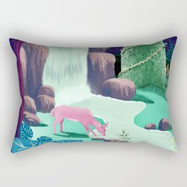 The Whispering Waters of Eventide Vale Rectangular Pillow