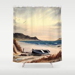 Mull Of Kintyre Scotland Shower Curtain