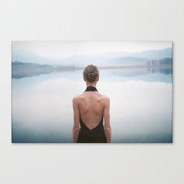 Lady Daydream Canvas Print