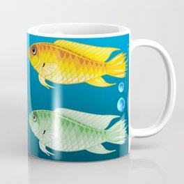 Colored Fish Coffee Mug