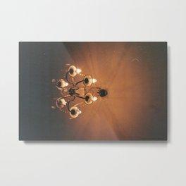 Lights Metal Print
