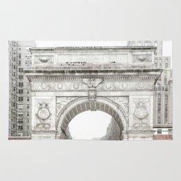 Washington Square Park Arch Rug