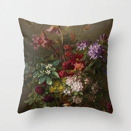 Vintage Botanical No. 2 Throw Pillow
