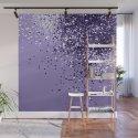 ULTRA VIOLET Glitter Dream #1 #shiny #decor #art #society6 by anitabellajantz