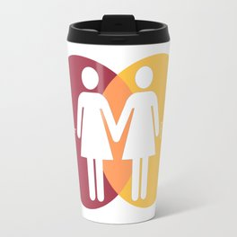 Love Is For Everyone - Her & Her Travel Mug