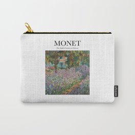 Monet - The Artist's Garden at Giverny Carry-All Pouch