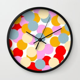 Colour Dots 02 Wall Clock