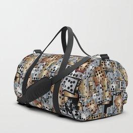 metal scraps Duffle Bag