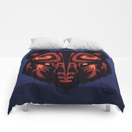 """""""Mathuin in Vector"""" by Paper Laine Comforters"""