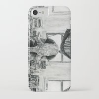 inner demons iPhone & iPod Cases featuring Inner Demons by Art & Ink