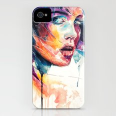 sheets of colored glass iPhone (4, 4s) Slim Case