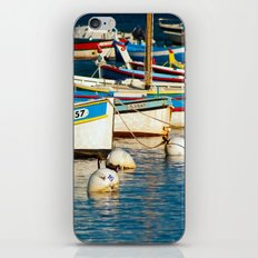 French boats 6971 iPhone & iPod Skin