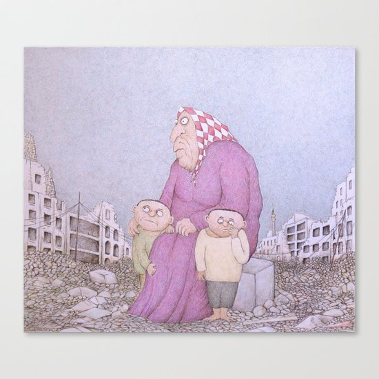 Our Lady of Aleppo Canvas Print
