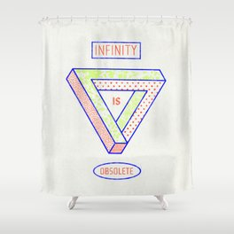 NONFINITY Shower Curtain