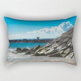 Caparica Beach Portugal Rectangular Pillow