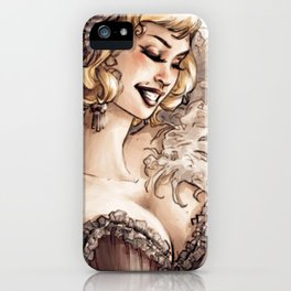 Burlesque iPhone Case