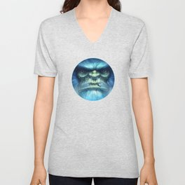 Abominable Snowman Unisex V-Neck