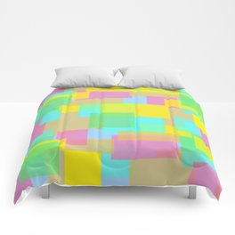 Coloured Blocks Comforters