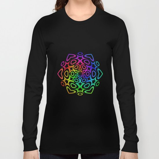 Rainbow ornament Long Sleeve T-shirt