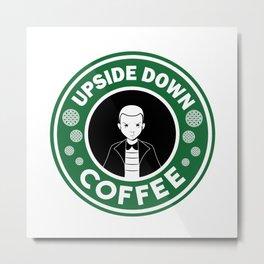 Upside down coffee Metal Print