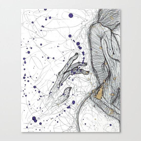 A Little Closer, A Little Further Away Canvas Print
