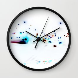 Chicklets Wall Clock