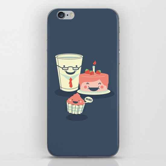 Oh! my sweet little cupcake. iPhone & iPod Skin