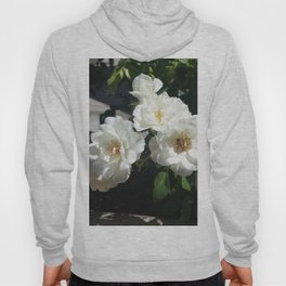 Bee And White Roses Hoody
