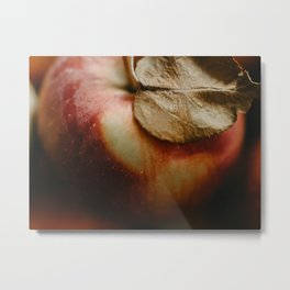 Apple Close Up Metal Print