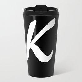 Alphabet ....K Travel Mug