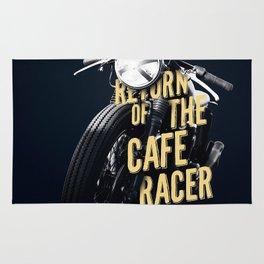 Return of the cafe racer Rug