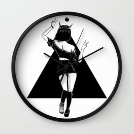 Naughty Devil Wall Clock