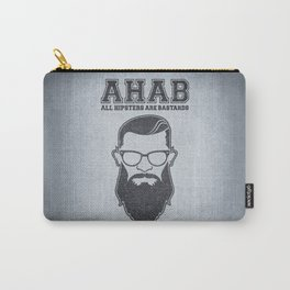 ALL HIPSTERS ARE BASTARDS - Funny (A.C.A.B) Parody Carry-All Pouch