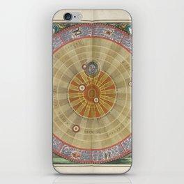 Keller's Harmonia Macrocosmica - Planisphere of Copernicus 1661 iPhone Skin