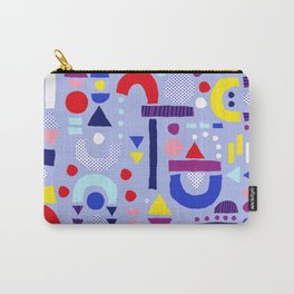 Tiny Inventor - Purple Sailor Carry-All Pouch